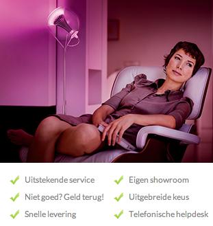 Uitstekende service, eigen showroom en snelle levering